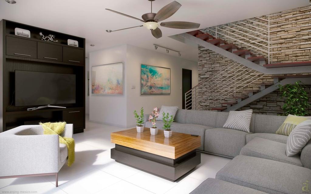 Как создать гармоничный дизайн гостиной в частном доме?