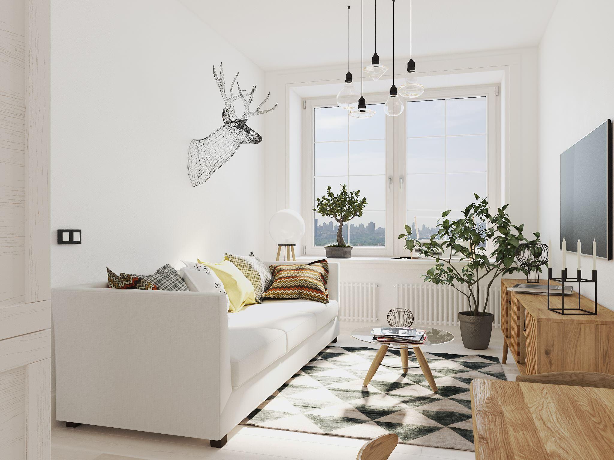 Последние тенденции использования скандинавского стиля в интерьере