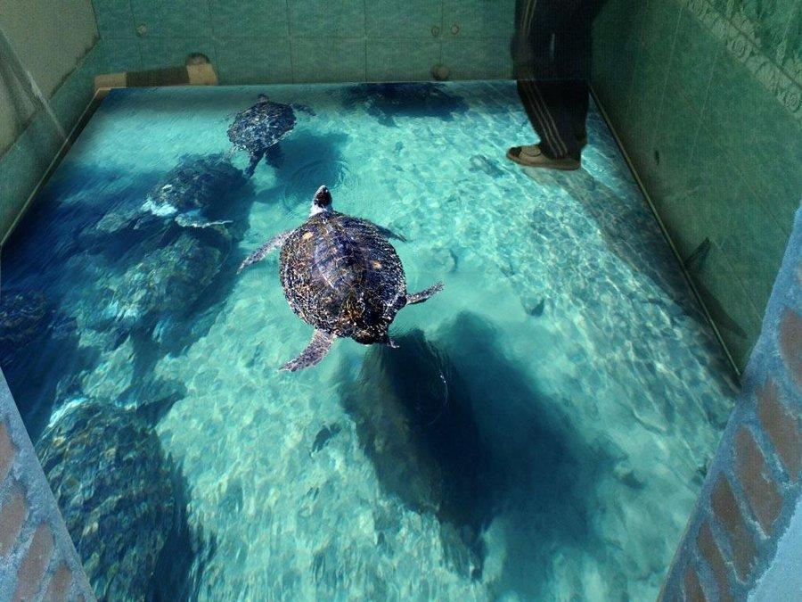 Наливные 3d полы: фото подборка