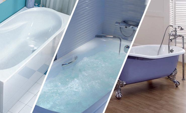 Что лучше акриловая или чугунная ванна?