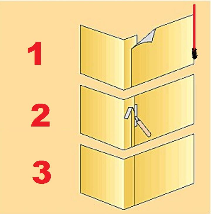 Как клеить обои в углах? с какого начинать, как правильно наклеить в комнате обои с рисунком, оклейка внешних и внутренних углов, как покрыть неровные стены