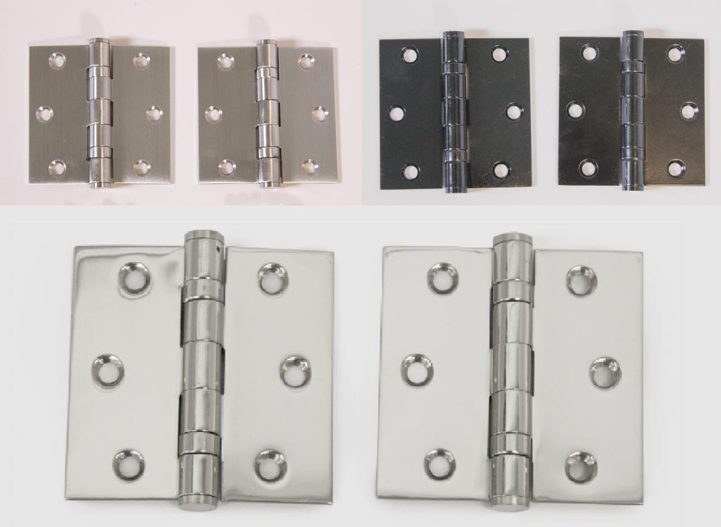 Петли для межкомнатных дверей: разнообразие видов и особенности установки