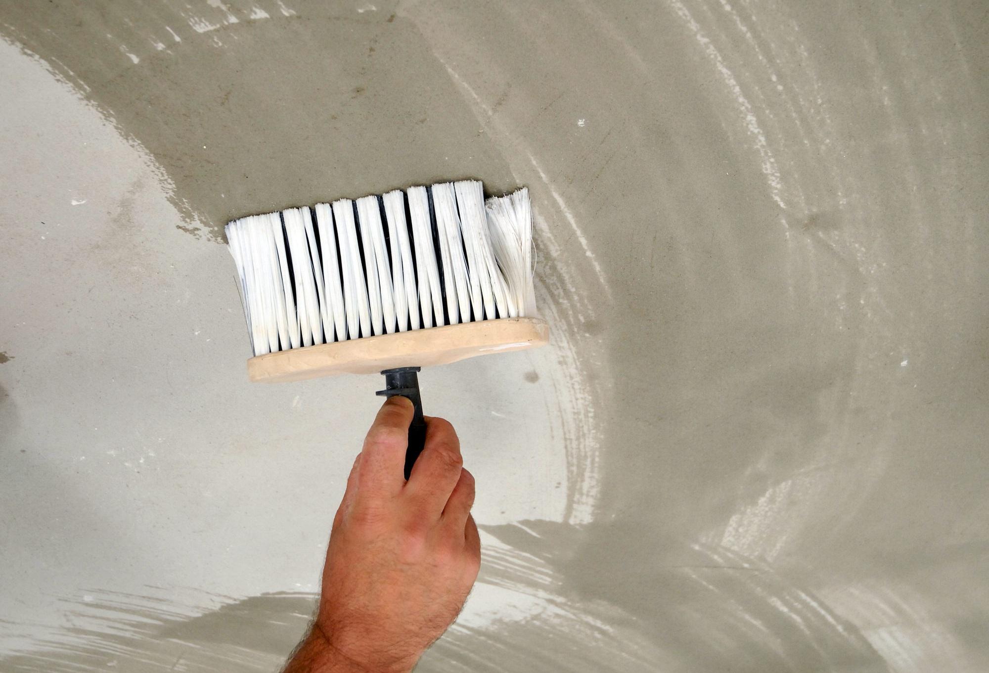 Пошаговая инструкция, как побелить потолок побелкой
