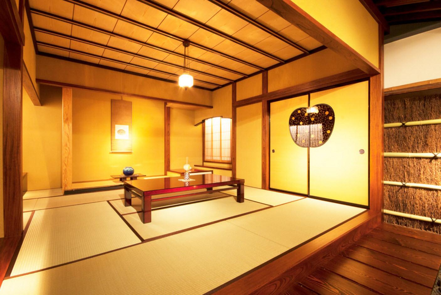 Интерьер в японском стиле + фото