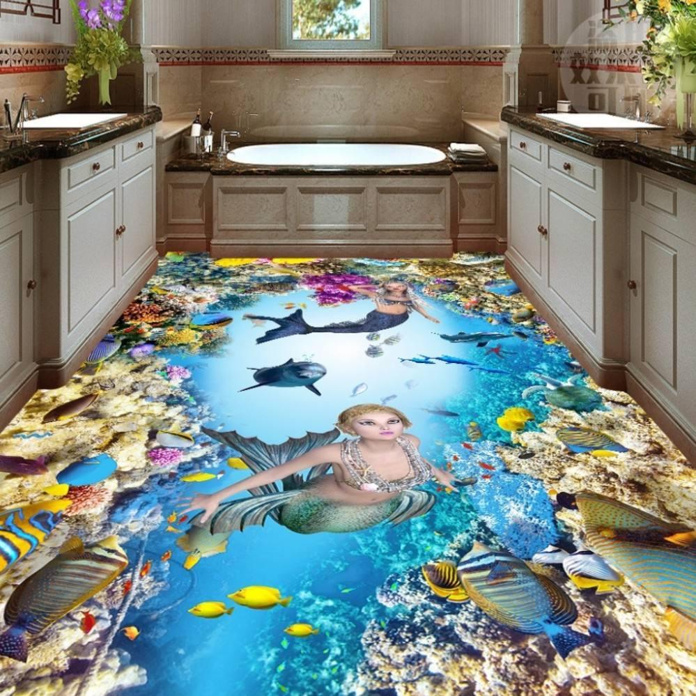 Наливной пол — 120 фото идей красивого дизайна