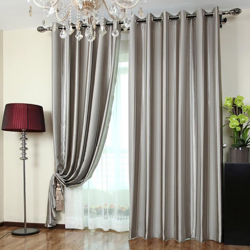 Советы по выбору дизайна штор под цвет мебели и обоев в гостиной