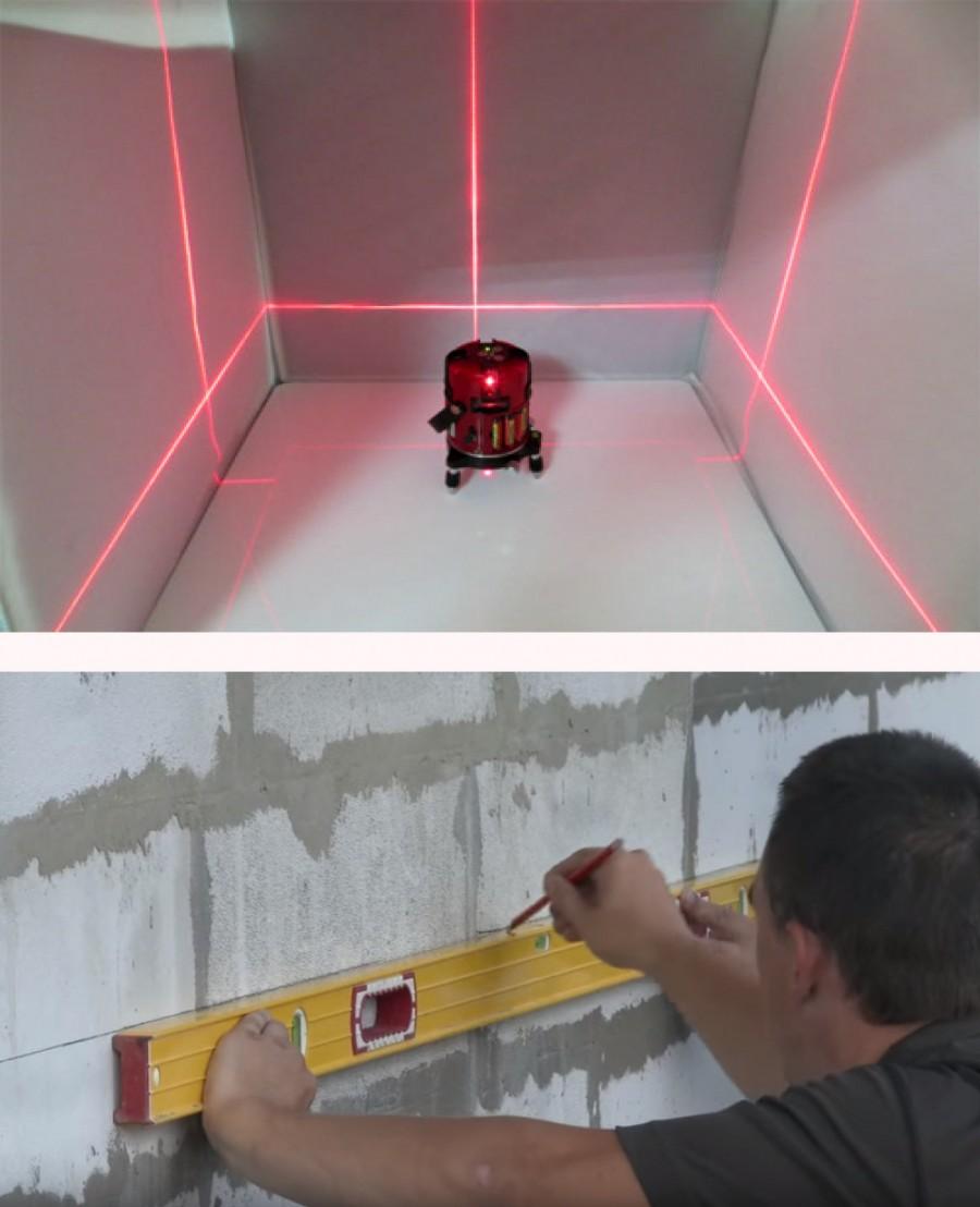Учимся использовать лазерный уровень практически