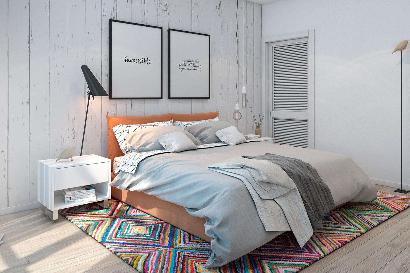 Скандинавский стиль в интерьере детской комнаты - от организации пространства до декора