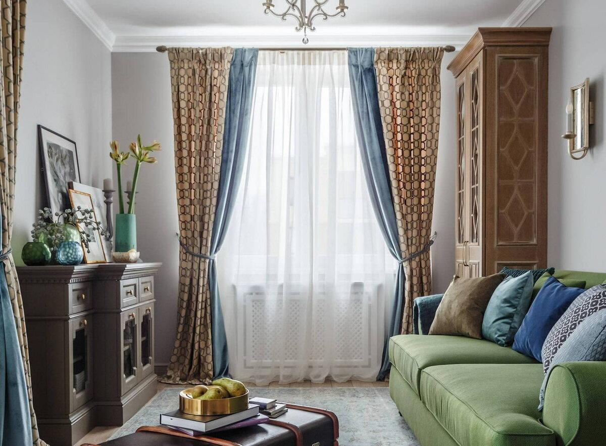 Шторы в квартиру - 90 фото-идей современных сочетаний и вариантов применения штор