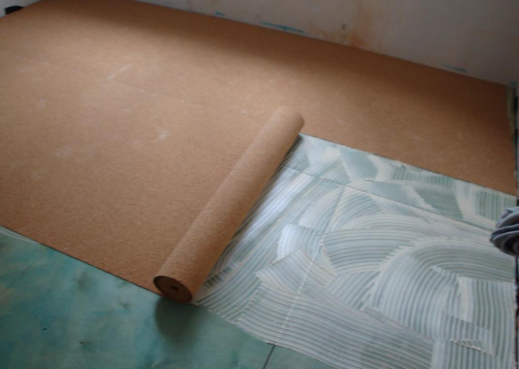 Пробковая подложка под ламинат: укладка, плюсы и минусы, отзывы