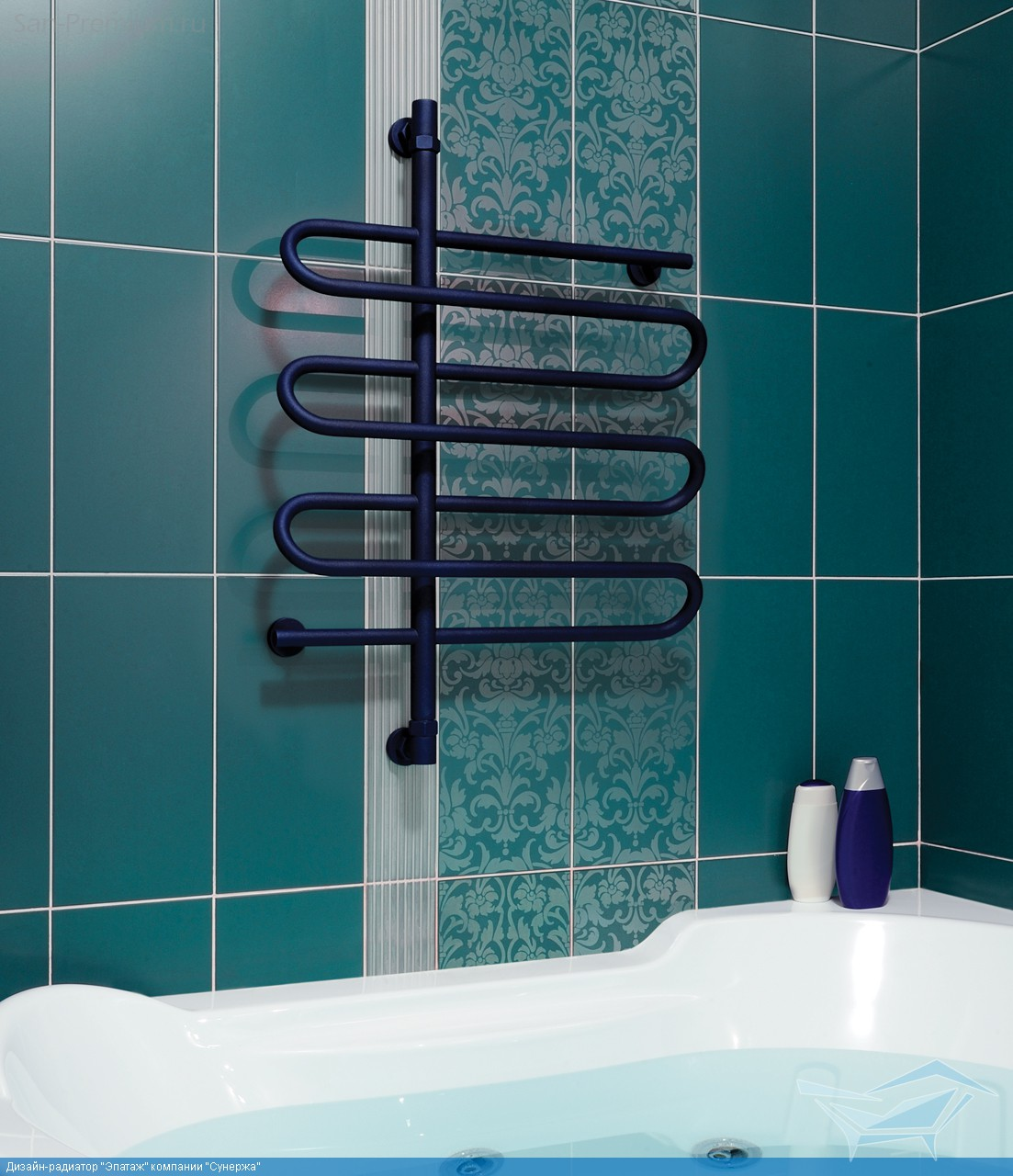 Установка полотенцесушителя в ванной : выполняем все работы своими руками