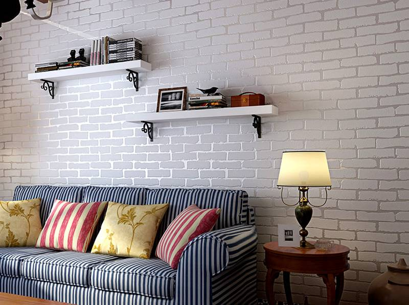 Кирпичная стена в интерьере (100 фото)