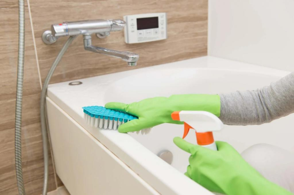 Чем мыть акриловую ванну в домашних условиях — средства для ухода