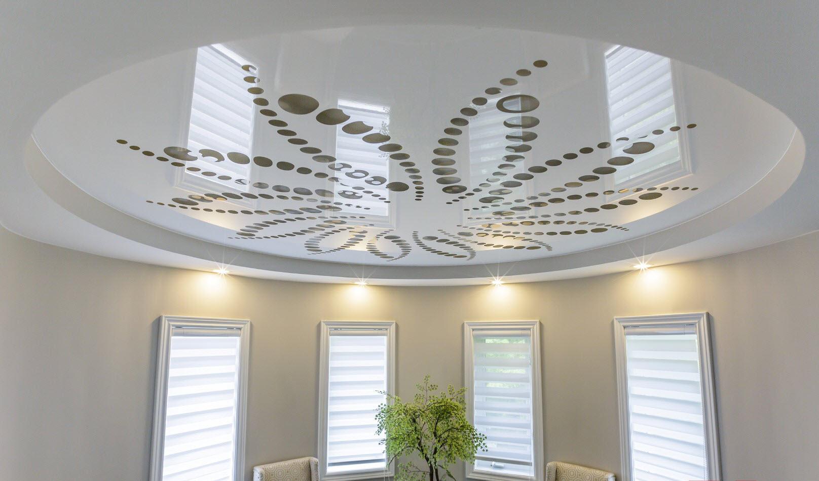 Сравнение гипсокартонного и натяжного потолка