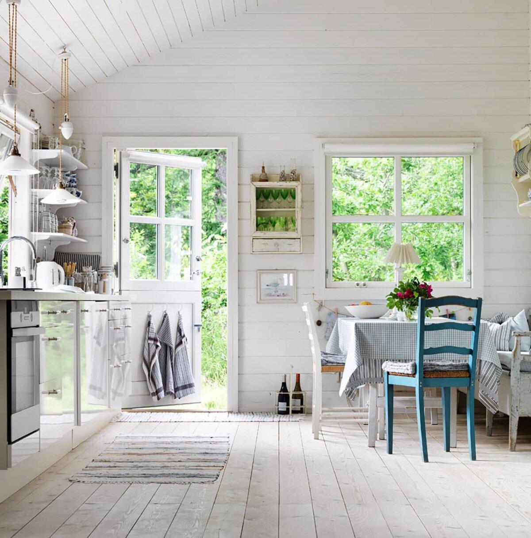 Загородный дом в скандинавском стиле: особенности, фото примеры