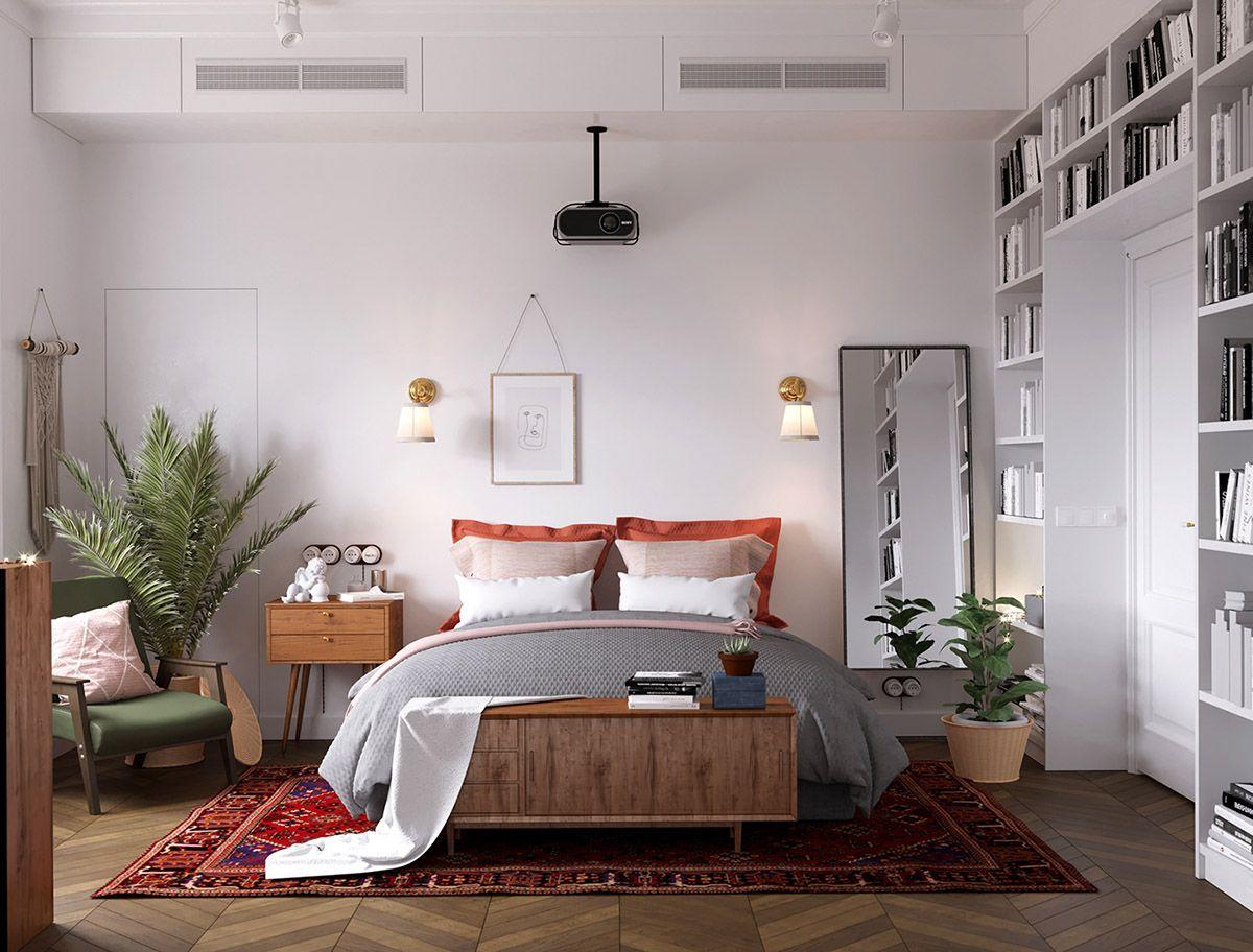 Дизайн спальни в скандинавском стиле - элегантный и простой одновременно…