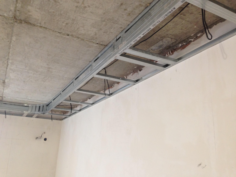 Потолок из гипсокартона двухуровневый: основы конструкции