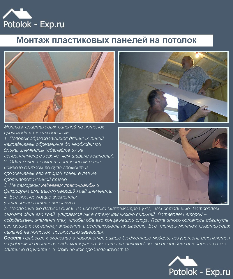 Отделка ванной пластиковыми панелями своими руками: фото дизайн