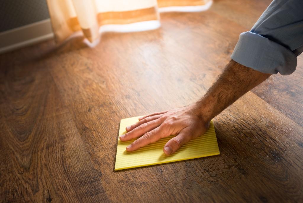 Как ухаживать за ламинатом - мойка и выведение пятен