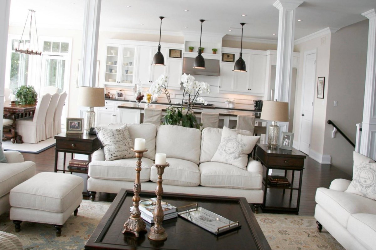 Американский стиль в интерьере - оформление всех комнат