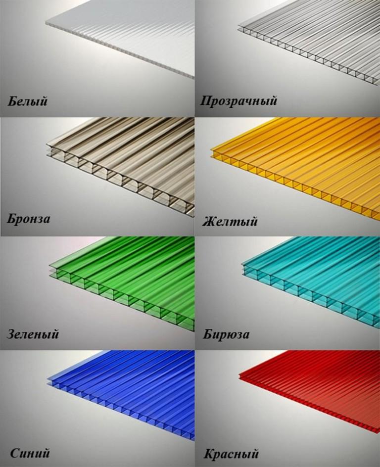 Выбираем листы поликарбоната: размеры и технические характеристики