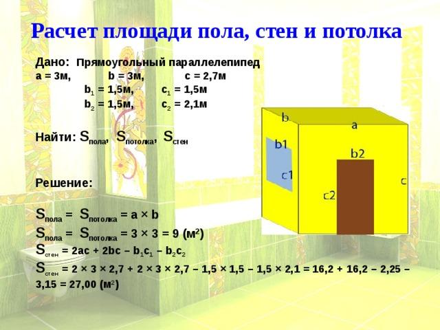Как вычислить площадь - подробное измерение любой комнаты. жми!