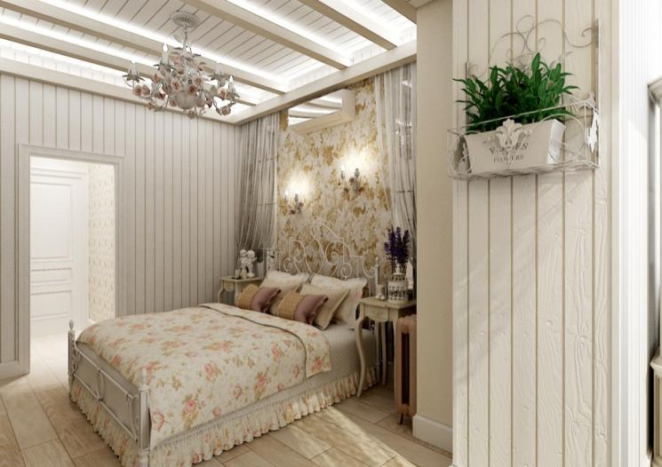 Спальня в стиле «прованс»