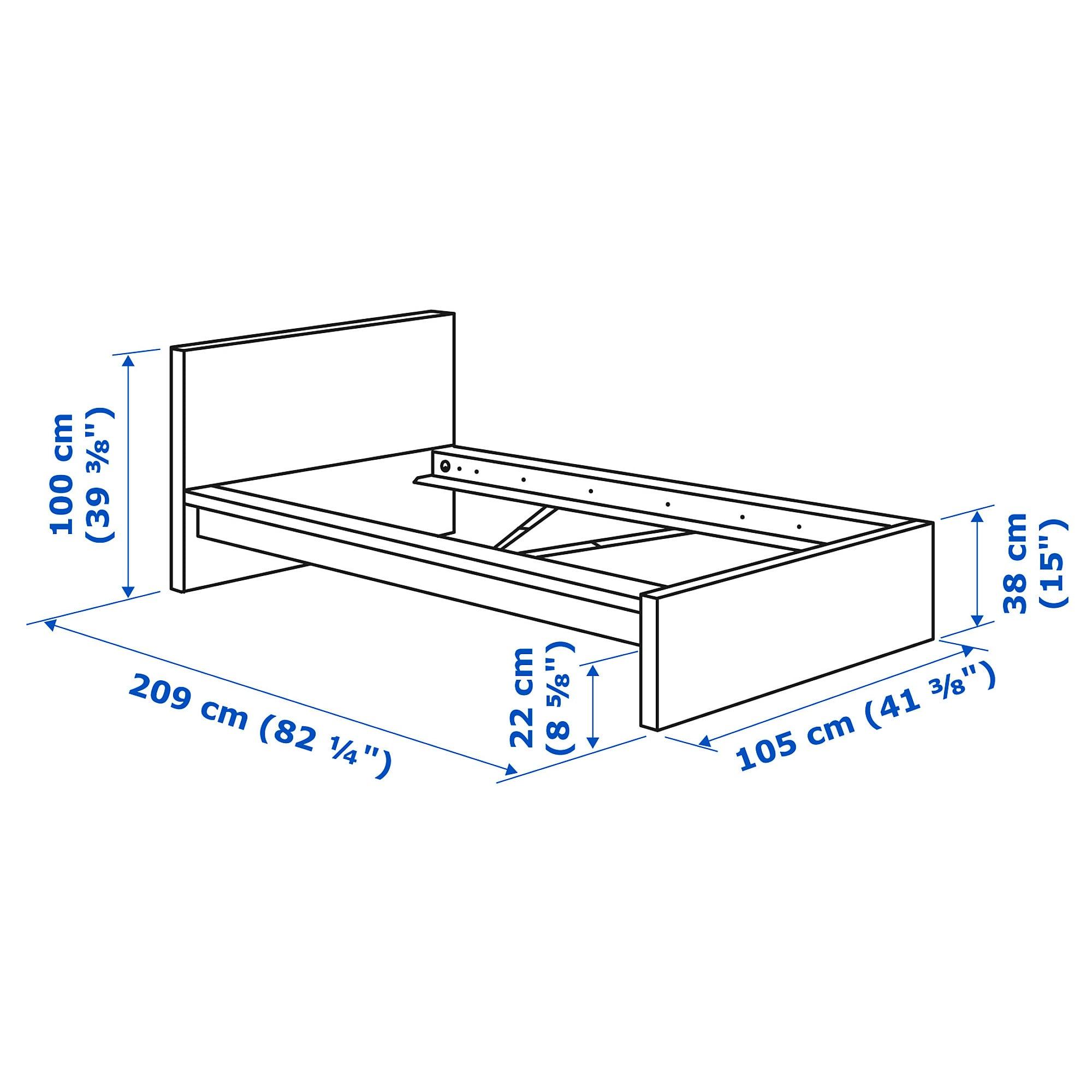 Размеры кроватей — стандарты