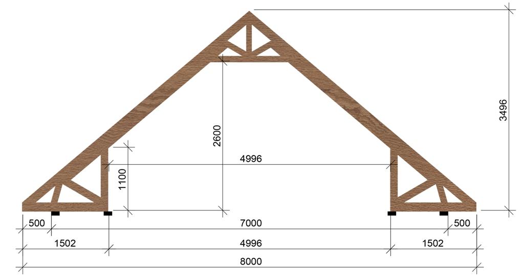 Стропильная система вальмовой крыши: специфика устройства и описание процесса монтажа