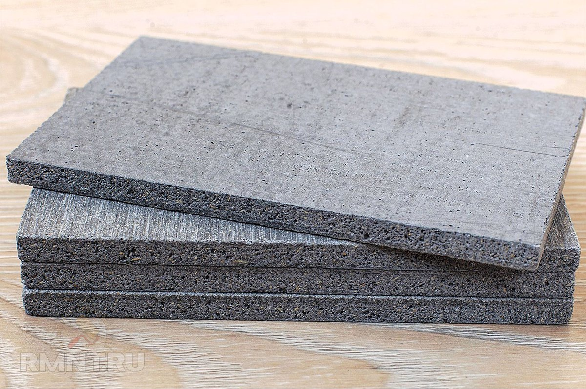 Цементно-стружечная плита в строительстве