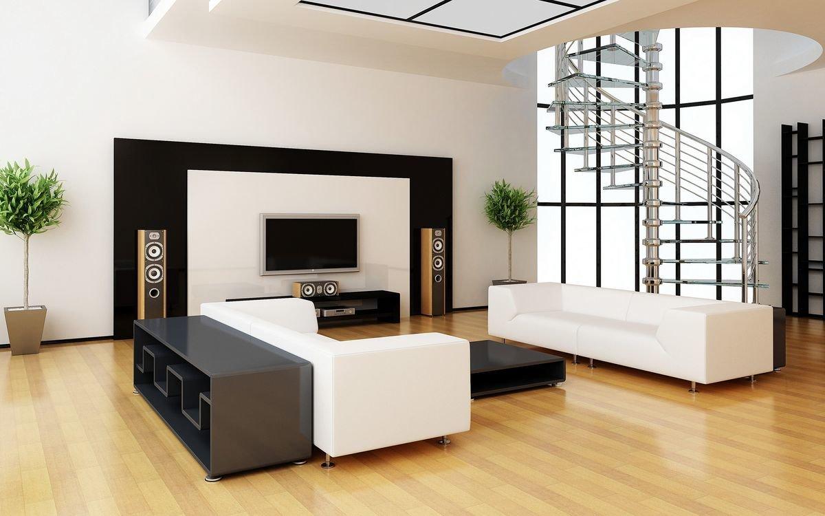 Стиль хай-тек в интерьере квартиры на фото