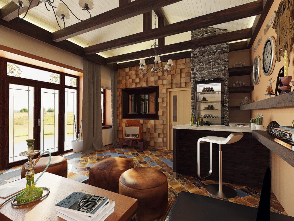 Кантри в городе – создаем кухню в деревенском стиле с нуля
