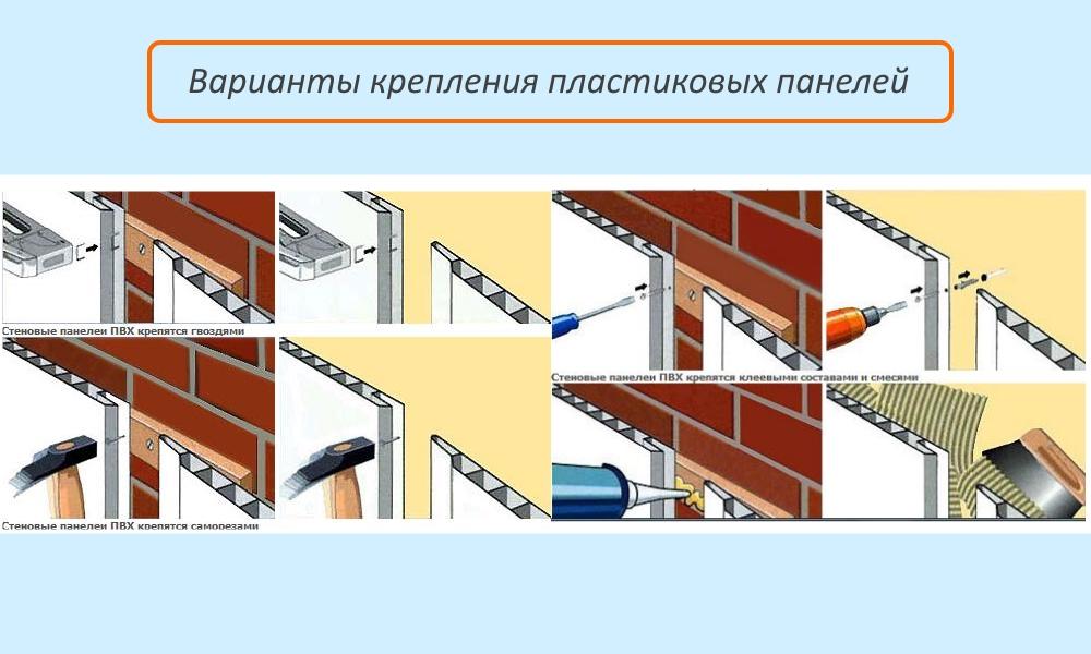 Монтаж панелей пвх: руководство по установке