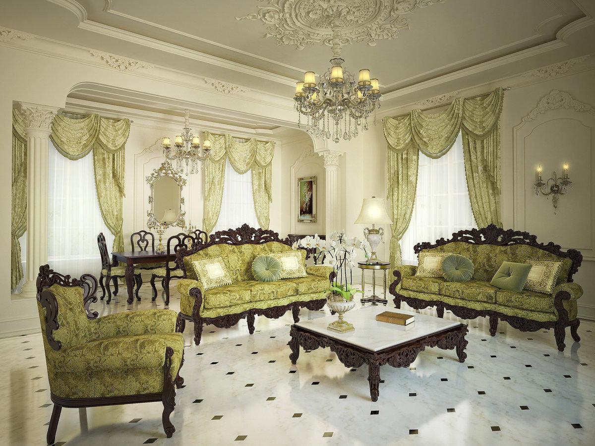 Кухня в стиле барокко: королевский шик для вашего комфорта