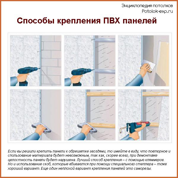 Отделка ванной комнаты панелями пвх – как создать красивую и долговечную облицовку?