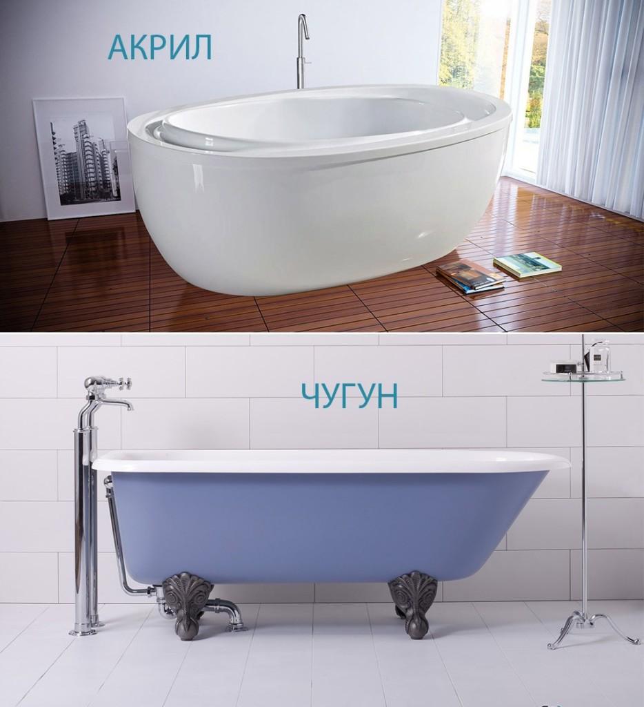 Акриловые ванны плюсы и минусы, особенности и свойства