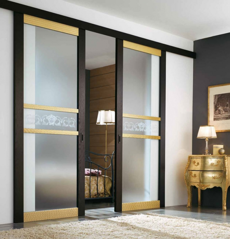 Варианты раздвижных межкомнатных дверей
