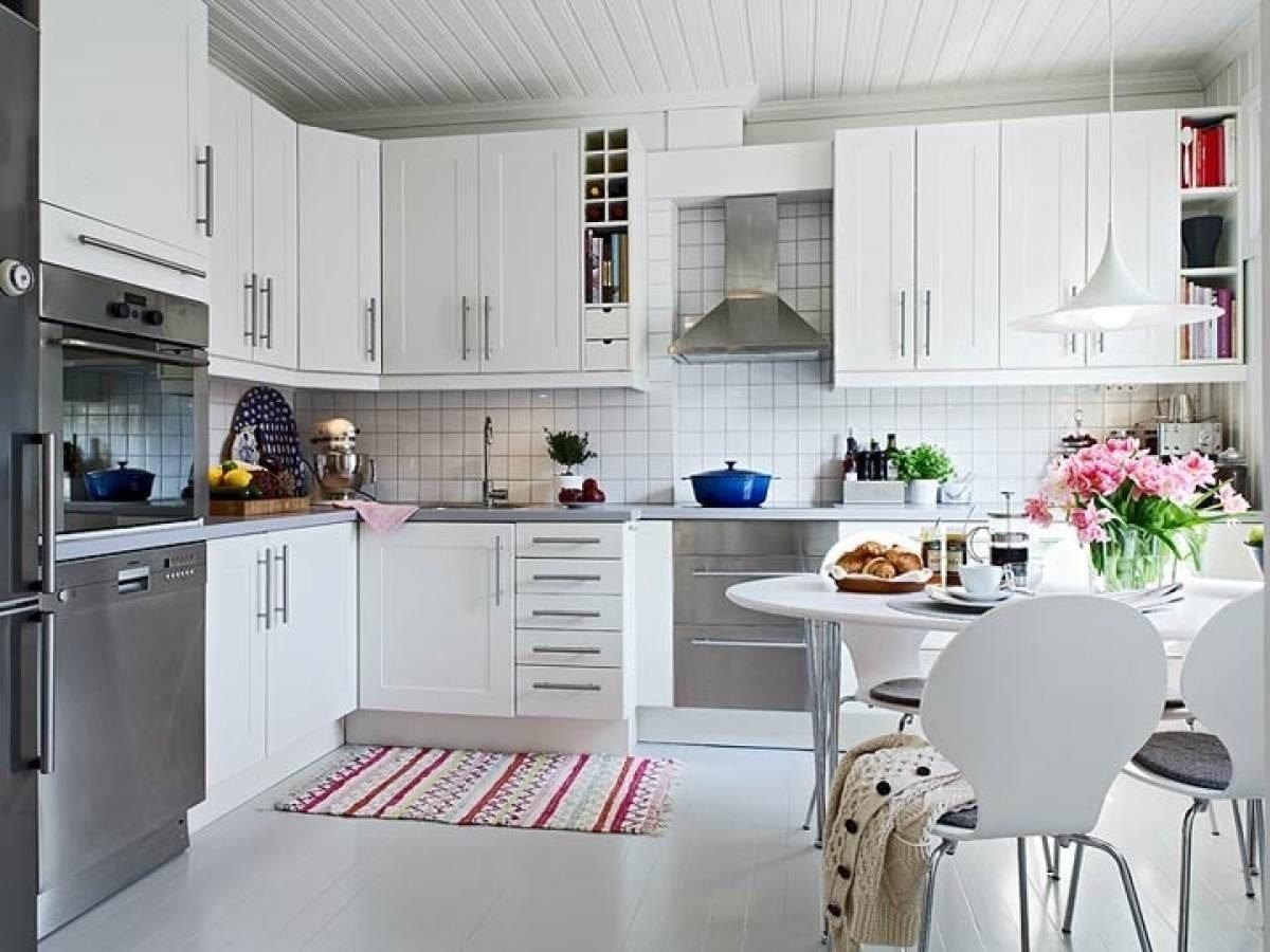 Кухня в скандинавском стиле: фото интерьеров и советы по оформлению