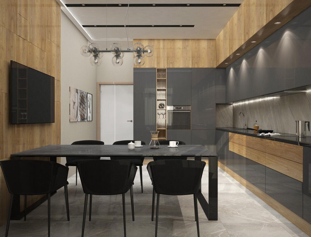 Маленький кухонный гарнитур: 70 фото идей для стильных решений