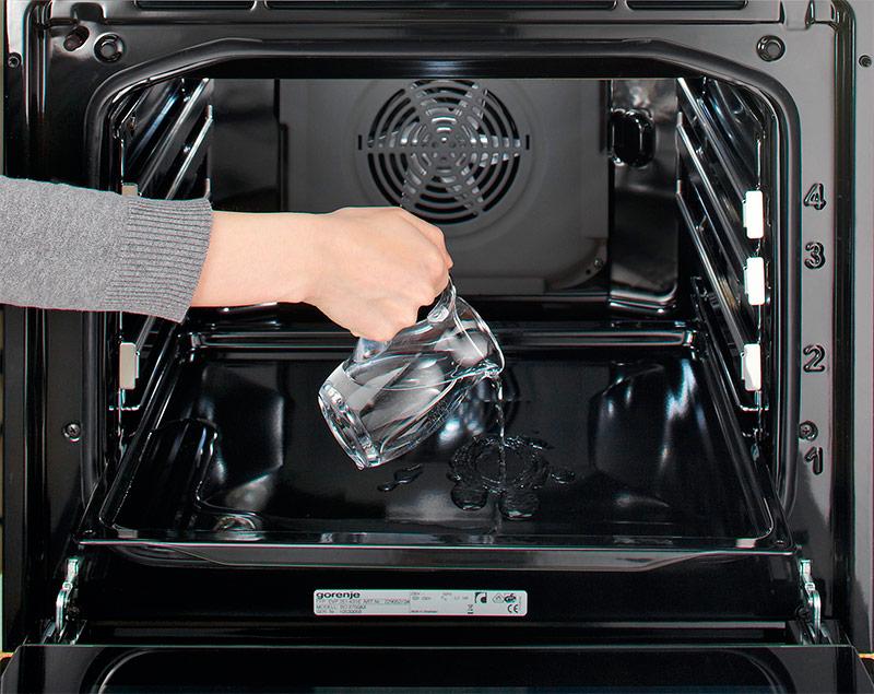Очистка духовки паром: особенности, преимущества и недостатки, лучшие средства для очистки
