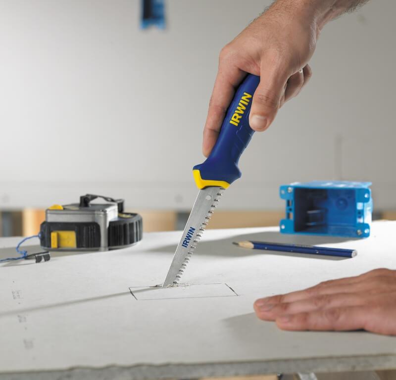 Как резать гипсокартон ножом, электролобзиком и ножовкой