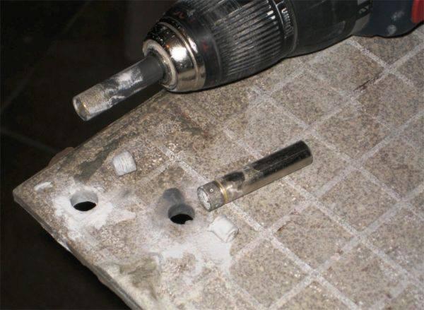 Сверло по керамограниту: чем сверлить керамогранит, как просверлить керамогранитную плитку алмазным сверлом