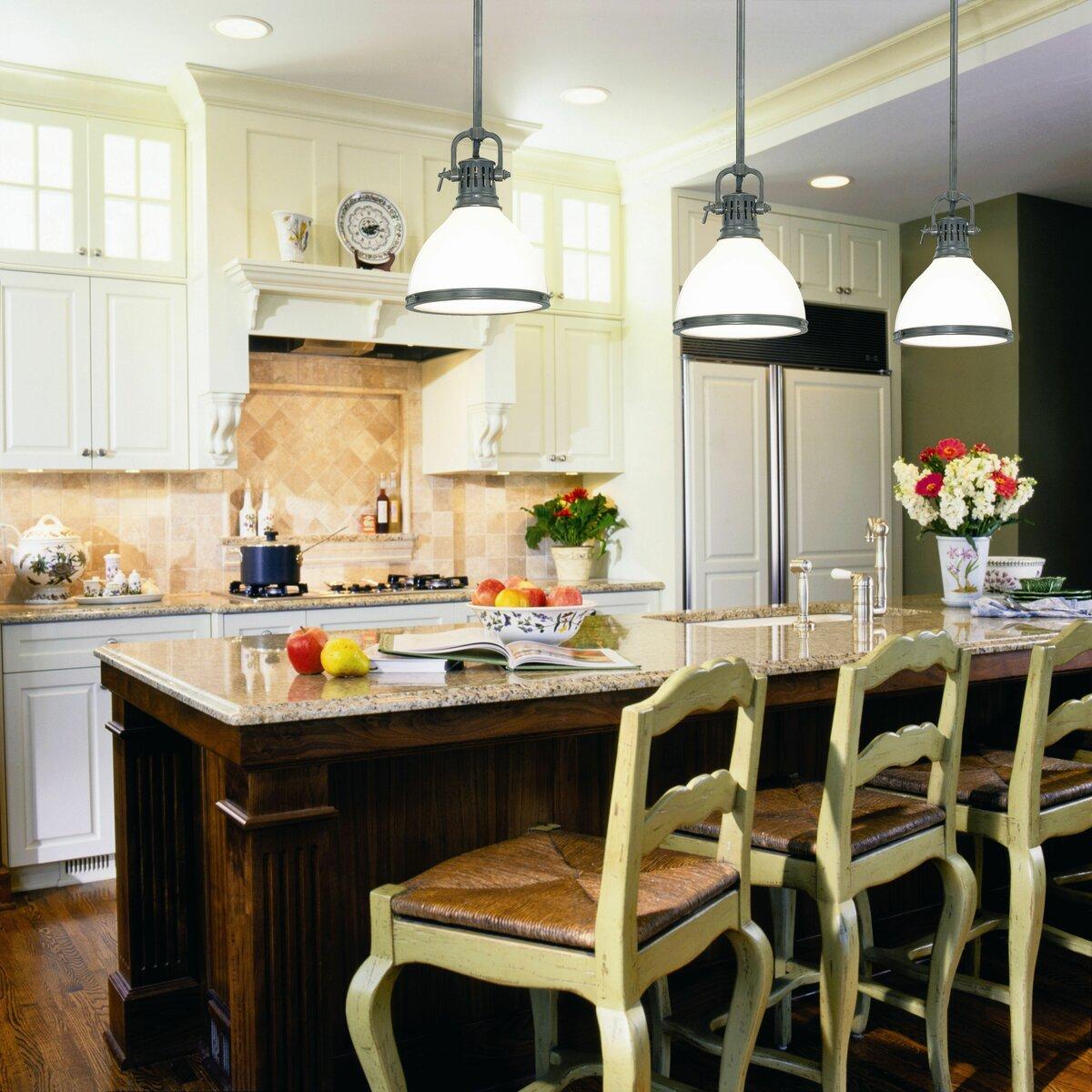 Люстры и светильники для кухни – фото светильников в интерьере