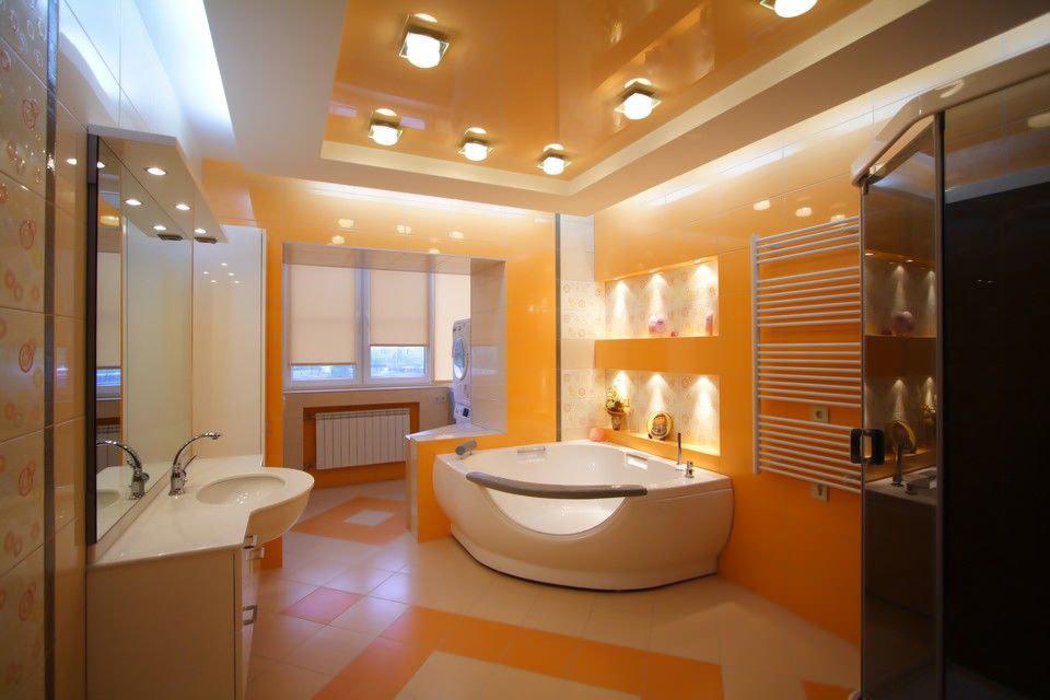 Потолок в ванной комнате: какой выбрать?
