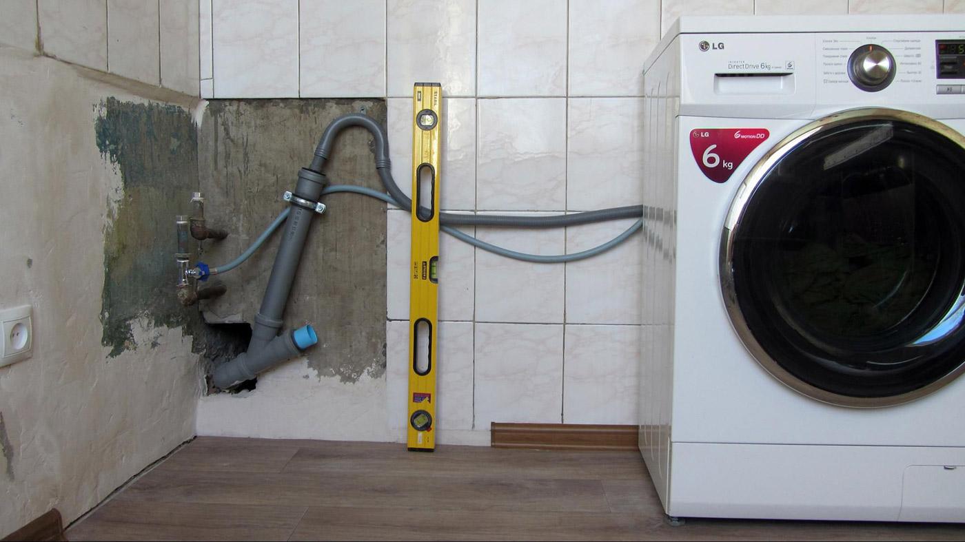 Инструкция для идеального мужа: как подключить стиральную машину-автомат?