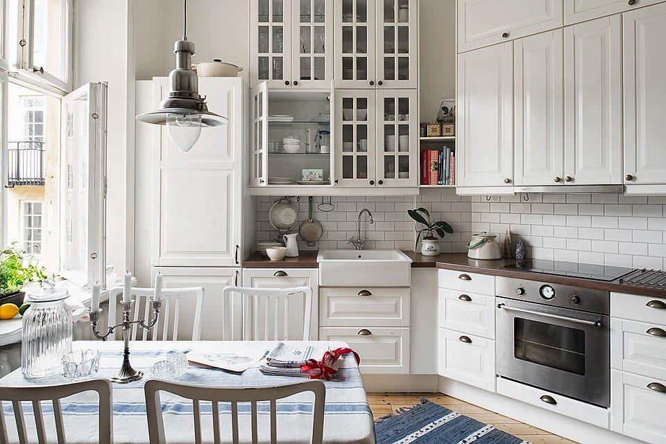 Кухня-гостиная в скандинавском стиле, как учесть все нюансы