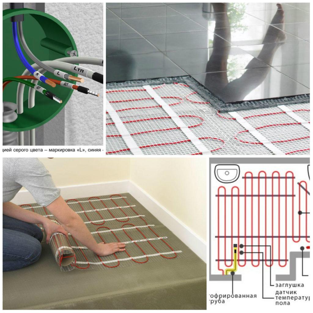 Теплый пол под плитку электрический – какой лучше?