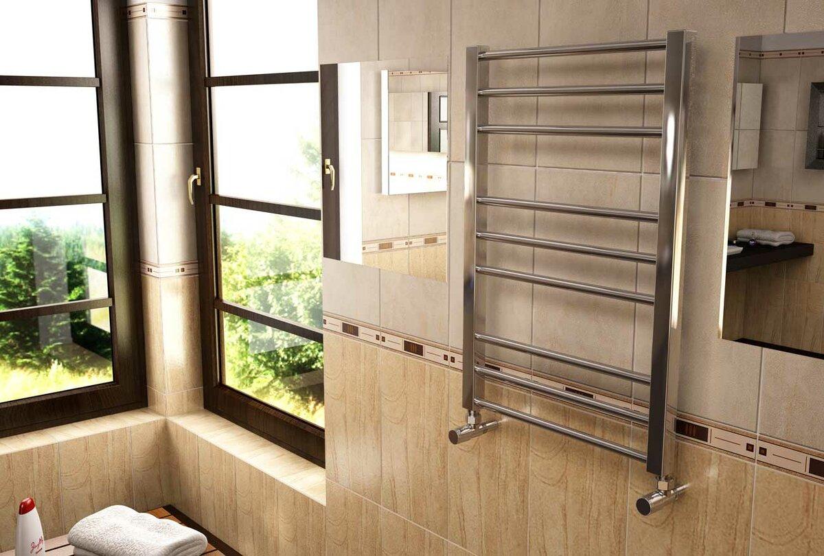 Установка полотенцесушителя: пошаговая инструкция и расчет необходимого места (75 фото)
