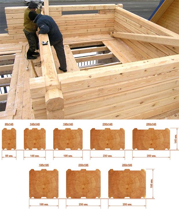 Брус для строительства дома: какой брус выбрать