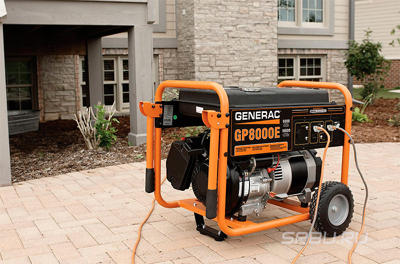 Как выбрать генератор для дачи и частного дома